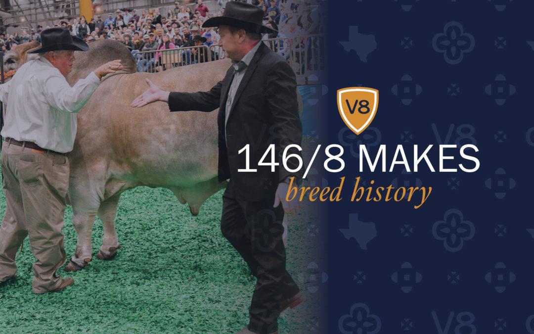 Mr. V8 146/8 Makes Breed History