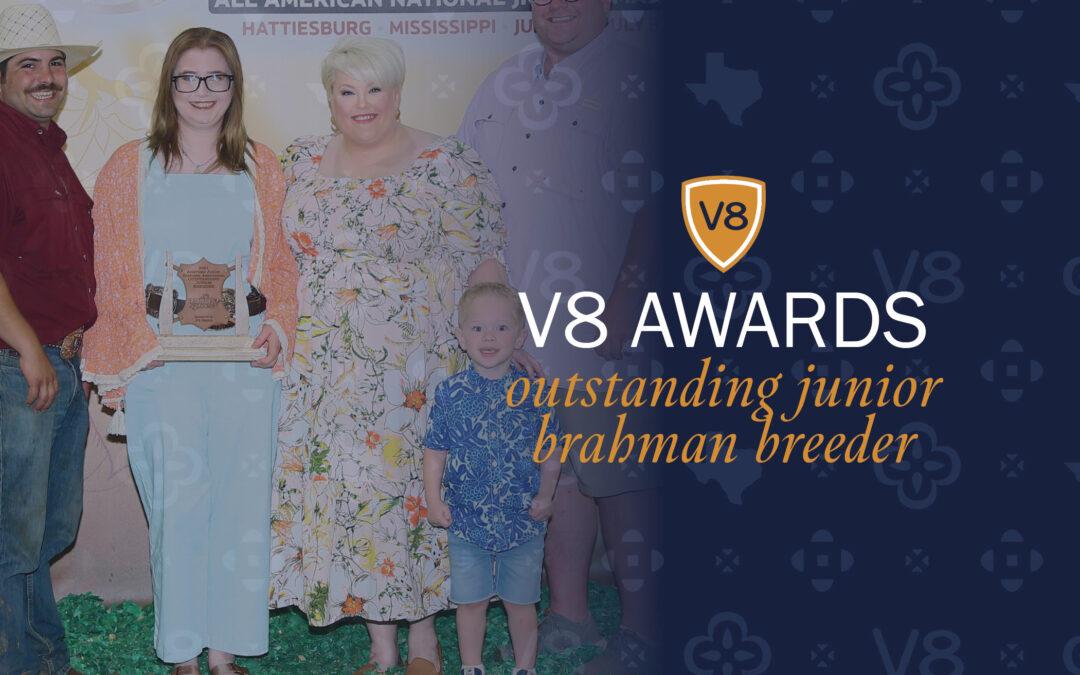 V8 Ranch Recognizes Outstanding Junior Breeder