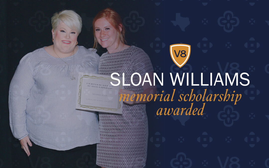 First Sloan Williams Memorial Scholarship Awarded
