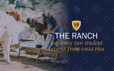 V8 Ranch Internships: The Ranch Welcomes Two Students from Costa Rica